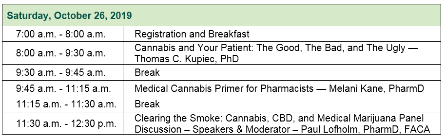 Breakfast Symposium Agenda
